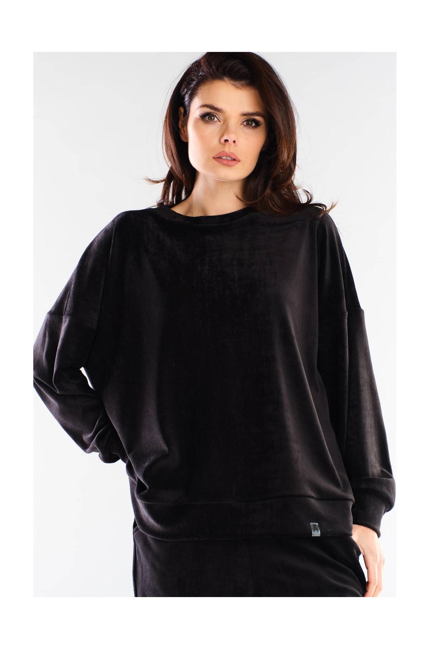 A410 - Velor Sweatshirt